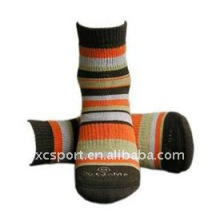 cotton knitted hiking socks