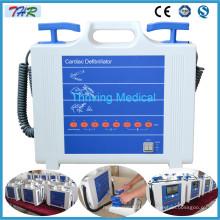 Machine à défibrillateur externe manuelle portable