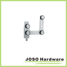 Stainless Steel Glass Door Curve Top Pivot Fitting (EC001)