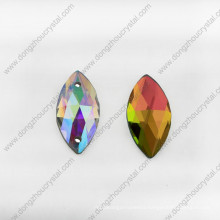 Ab Navette Flat Back Glass Stones for Clothing Accessories