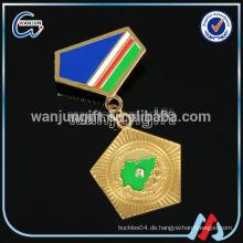 Freies Design Zink-Legierung Medaille Abzeichen für verschiedene Sport-Event