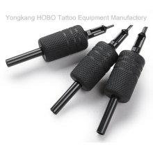 Top qualidade 25 milímetros descartáveis tatuagem preto borracha de silicone apertos com pontas pretas