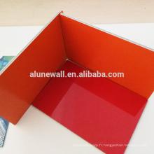 Panneaux ignifuges d'acp de matériaux composés en aluminium de panneau avec la structure ignifuge