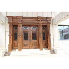 Villa de luxe Entrée design unique Sécurité Porte en cuivre