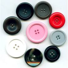 Good Quality Round Colorful Acrylic Resin Button for Garment