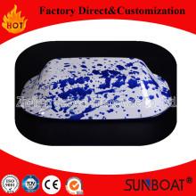 Sunboat Emaille Backblech / Teller Butter Plate