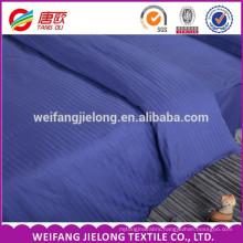 Good Price Hotel Beddings, 100% cotton 40s 250tc satin stripe Hot sale. Bright Stripe Satin bedding sets white stripes fabric