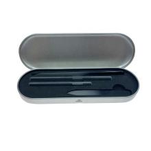 Amazon Popular 12CM Black Crystal Nail File 9 CM Nano Nail FIle Iron Box Set
