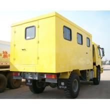 Carro de garaje móvil Sinotruk 4X4