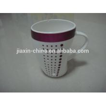 Eco-friend hot sale 300cc porcelain beer mug