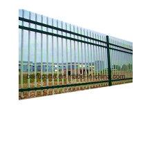 Valla de metal al aire libre Valla de hierro HDG con extremo afilado