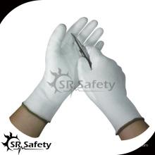 SRSAFETY Устойчивая к удару белая рабочая перчатка