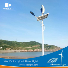 DELIGHT Wind Solar Street Light Capacité de la batterie