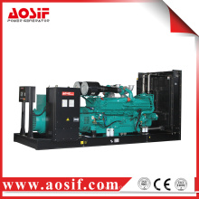 China 1100kw / 1375kva generador usado a prueba de sonido KTA50-G3 generador diesel