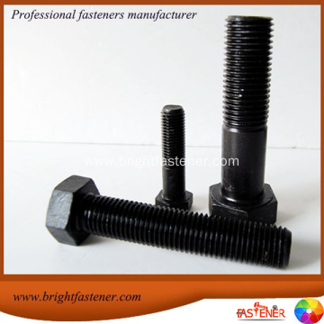 1/2x3  SAE J429 Gr.8 Black Oxide Hex Cap Screw