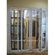 Porte pliante en aluminium