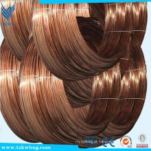 ASTM 304 0,2 mm de aço inoxidável cobre Coated preço por metros com amostra gratuita