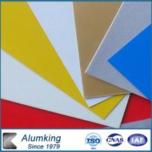 Feuille d'aluminium recouvert de couleur 3003 pour plafonds