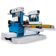 Four motor double edge glass pencil round grinding machine