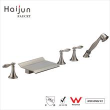 Haijun Factory Direct cUpc Triple Handle Bathroom Thermostatic Shower Faucets
