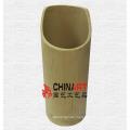 Rein natürlicher Bambusrohrbehälter