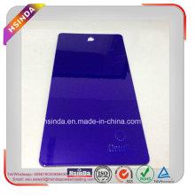 Индивидуальная конфета Темно-фиолетовая порошковая краска Прозрачное порошковое покрытие