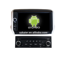 """8""""автомобильный DVD-плеер,фабрика сразу !Четырехъядерный процессор,GPS,радио,Bluetooth для Пежо 208/2008"""