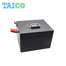 High Quality Customized Large Medical Cart Lifepo4 25.6V 200Ah Battery Pack Garden Light Lithium Ion Battery