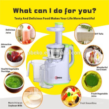2015 Obst und Gemüse Multifunktionale langsame Mastixierung Single Auger Juicer Extractor Low Speed ​​Juicer Slow Juicer