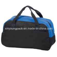 Promotional 600d Polyester Velcro Pocket Sports Duffle Bag
