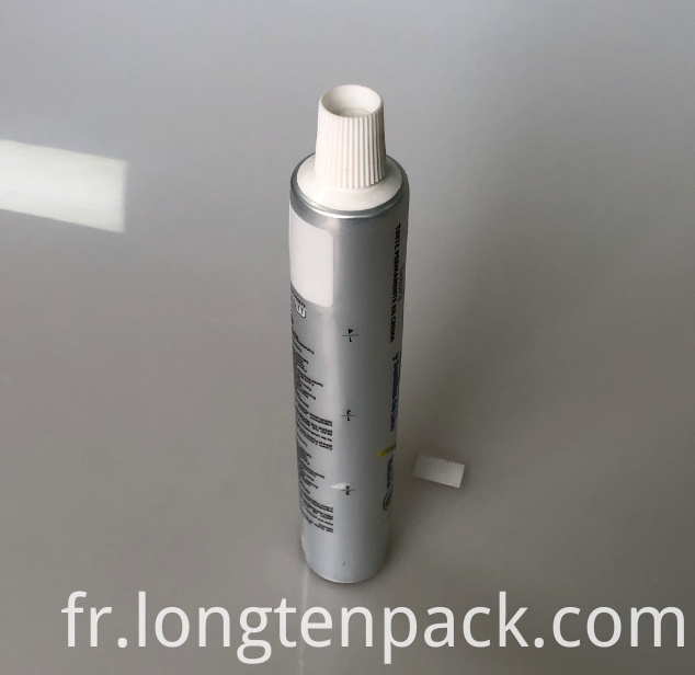 LTP6011 AL toothpaste tube with screw cap