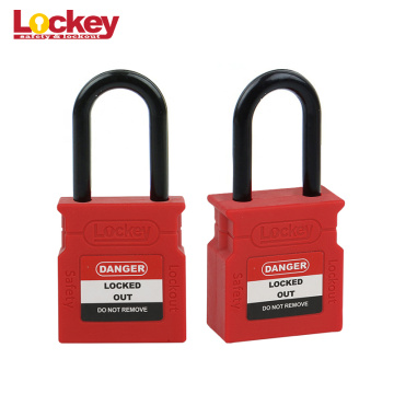 Security 38mm Shackle Pad bloquea Loto ABS Candado
