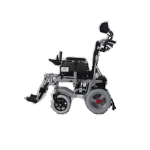 Lightweight foldable electric motor wheel chair