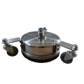 """8"""" 12""""  Stainless Steel Surface Cleaner with Wheels"""
