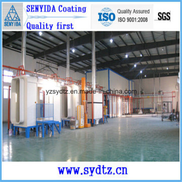 Powder Coating Line Painting Line for Recovering