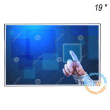 Sem moldura 19 polegadas monitor de moldura aberta com tela sensível ao toque
