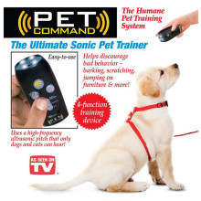 Animal doméstico comando - dispositivo de adiestramiento de mascotas y la linterna