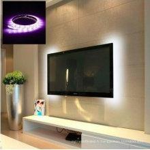 Intérieur 50 CM 1 M 2 M Flexible TV Fond D'éclairage Bande 5 V 5050 3528 SMD IP65 Étanche RGB Chaud Frais Blanc USB LED Bande Lumière
