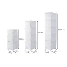 Durable Plastic wardrobe plastic storage cabinet
