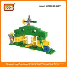 2015 neue Kunststoff-Gebäude Puzzle Block Spielzeug