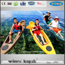 Single Bottom Clear Fishing Kayak