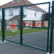 Double Gate Welded Wire Mesh Gate untuk Garden