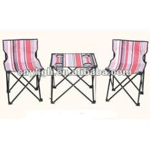 conjunto de mesa e cadeira de praia VLT-6053D