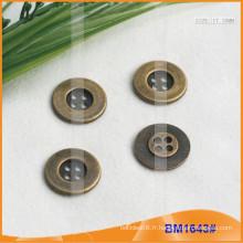 Bouton en alliage de zinc et boutons en métal et bouton de couture en métal BM1643