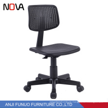 Wholesale Red Plastic Swivel Student Study Chairs/Adjustable Computer Chair