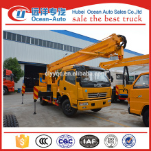 factory directly sale Dongfeng 16~18m high working truck with one and half cab