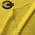 voiture ouvrier usine usure uniforme costume vêtements polyester conducteur fil carbone tricot anti tissu de maille piqué statique
