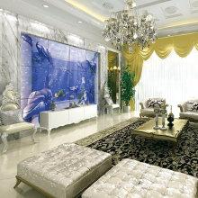 Glazed Surface Sea World Dolphin 3D Tile Ceramic Wall Tile