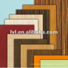 2.0 ~ 5.0mm de madera de grano melamina mdf 1220 * 2440mm