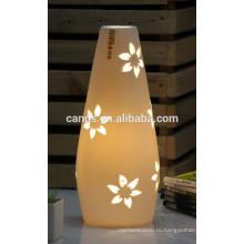 Хозяйственные фарфоровые настольные лампы цветок